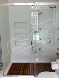 Corian Duş Duvar Kaplama
