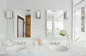 Carrara Mermer Banyo Tezgahı