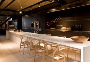 DuPont Corian Akrilik Mutfak Masası