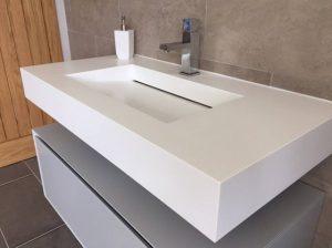 Gaziosmanpaşa Corian Banyo Lavabo Tezgah
