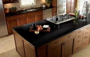 Siyah Mutfak Tezgahı