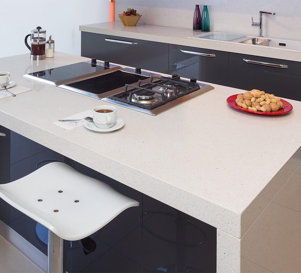 Beyaz Çimstone Mutfak Tezgahı Fiyatı