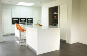 Corian Mutfak Tasarımları Modelleri