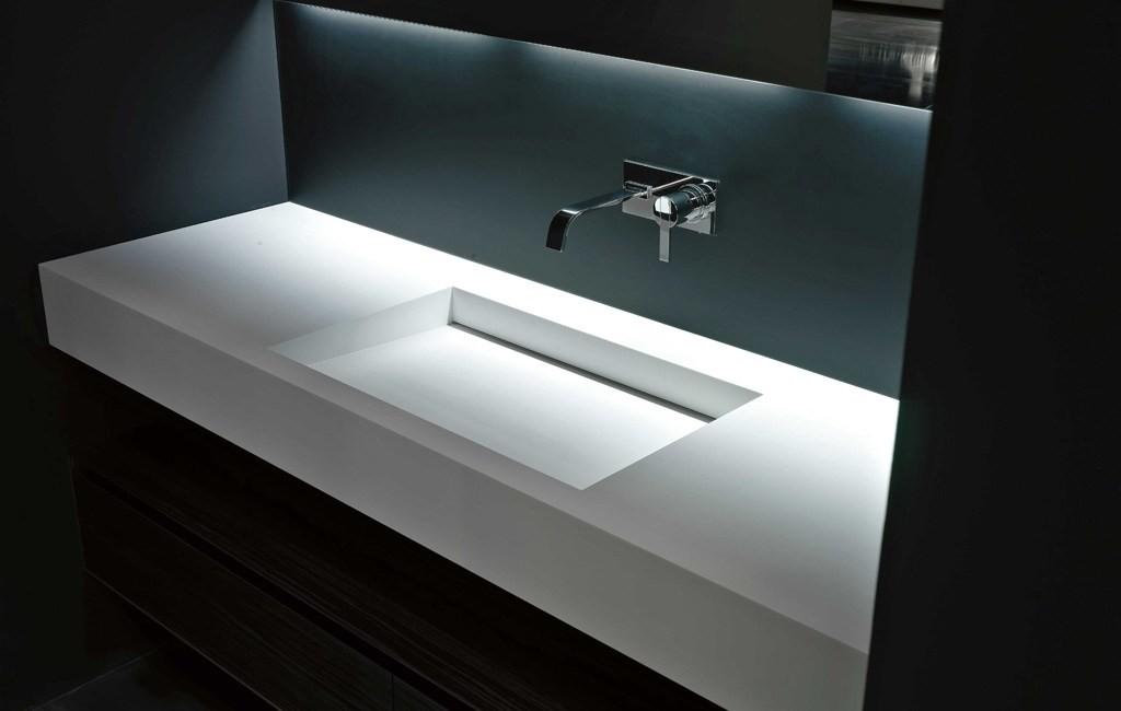 Corian yalak lavabo uygulamalar modelleri - Lavabos de corian ...