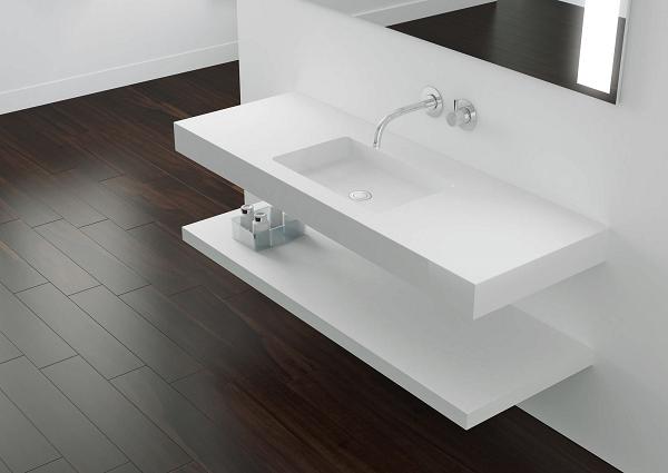 Banyo İçin Corian Tezgah Modelleri