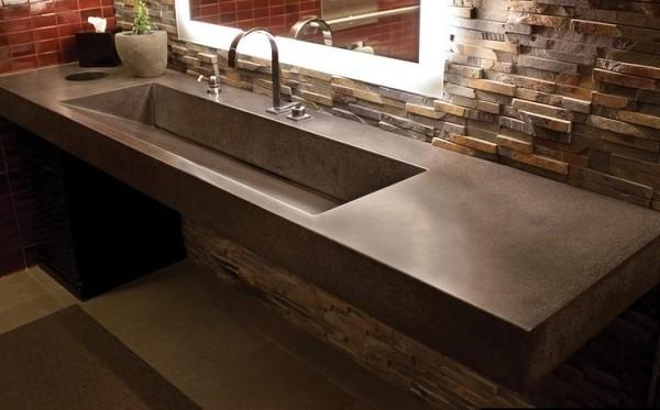Corian Banyo Lavabo Tezgahı
