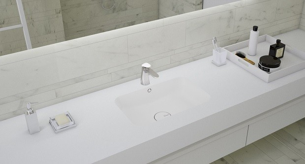 Corian Banyo Lavabosu Serenity 7530