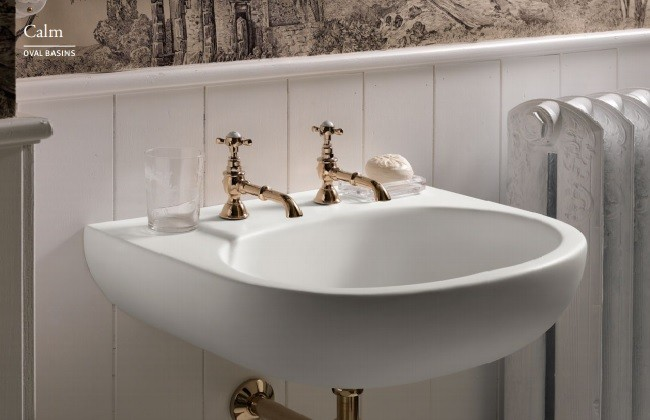 Corian Kendinden Lavabolu Banyo Tezgahı