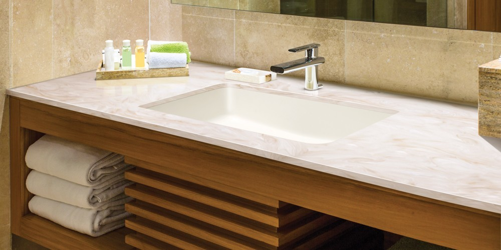 Corian Banyo Tezgahı ve Lavabosu