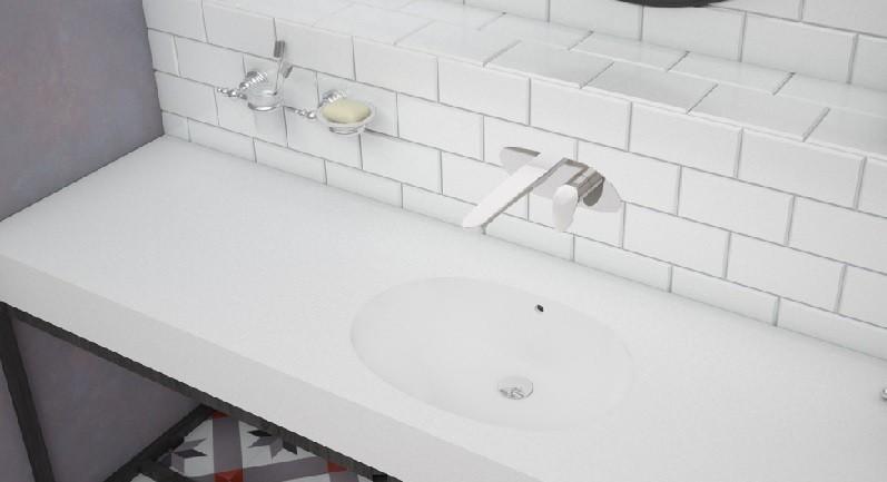Corian Banyo Lavaboları