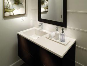 Corian Akrilik Banyo Tezgahı
