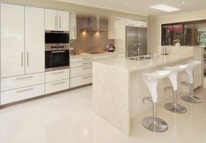 Corian Clam Shell Mutfak Tezgahı