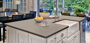Corian Elegant Gray Mutfak Tezgahı