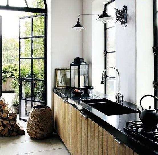 Siyah Akrilik Mutfak Tezgahı Fiyatı