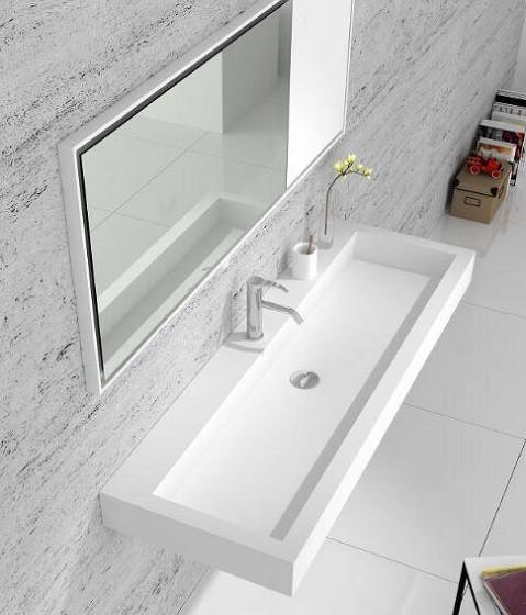 Akrilik Corian Banyo Tezgahı