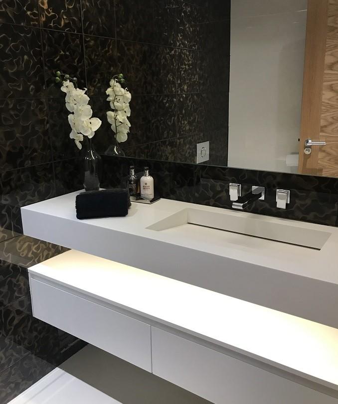 Beyoğlu Corian Banyo Tezgahı