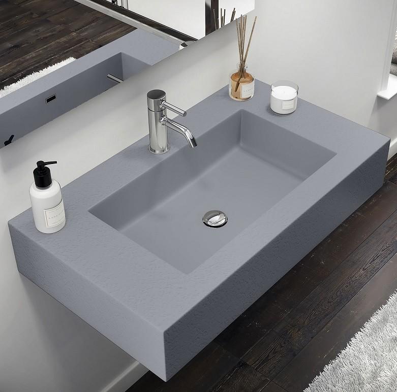 Corian Banyo Tezgahı Bodrum