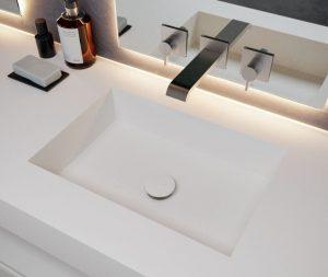 Küçükyalı Corian Banyo Tezgahı