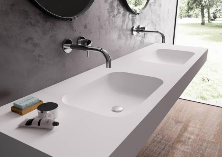 Yenibosna Corian Banyo Tezgahı