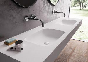 Samsun Corian Banyo Tezgahı