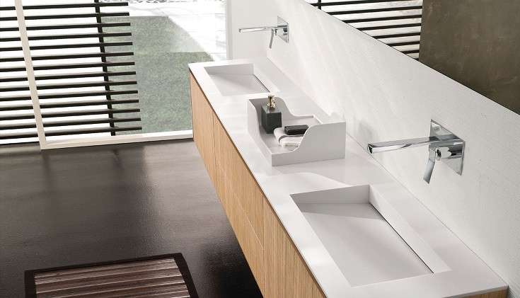 Kayseri Corian Banyo Tezgahı