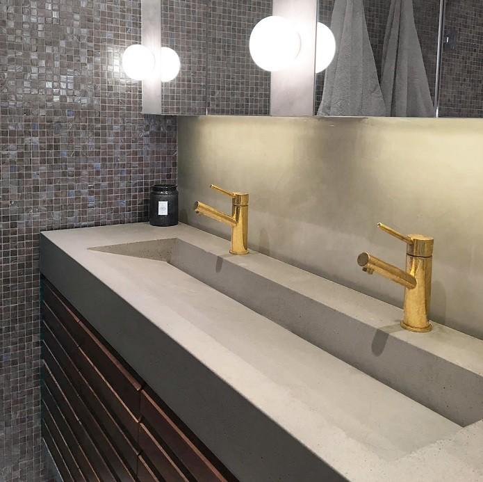 Amasya Corian Banyo Tezgahı