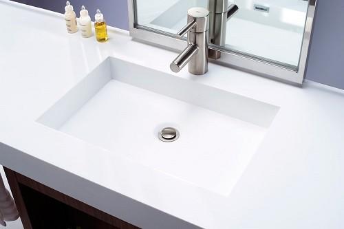 Avrupa Konutları Corian Banyo Lavabosu