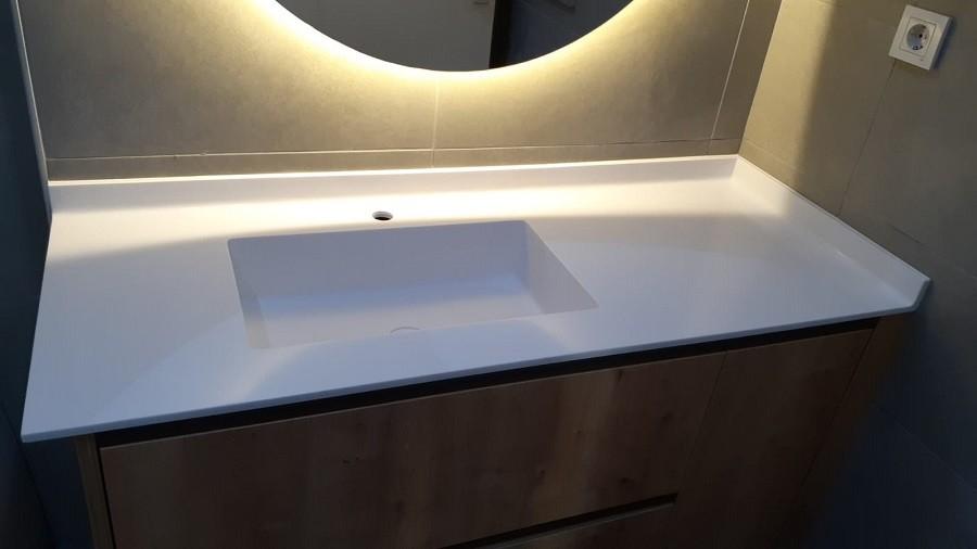 Kentplus Corian Banyo Tezgahı