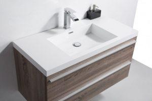 Alaplı Corian Banyo Lavabosu