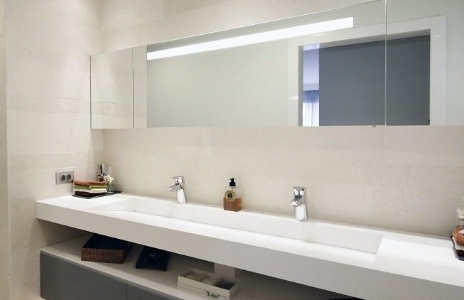 Tokat Corian Banyo Tezgahı