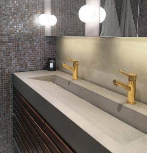Bağlıca Corian Banyo Lavabo Modelleri