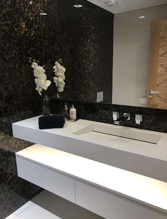Denizbostanlısı Corian Banyo Lavabosu
