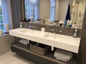 Gaziantep Corian Banyo Tezgahı