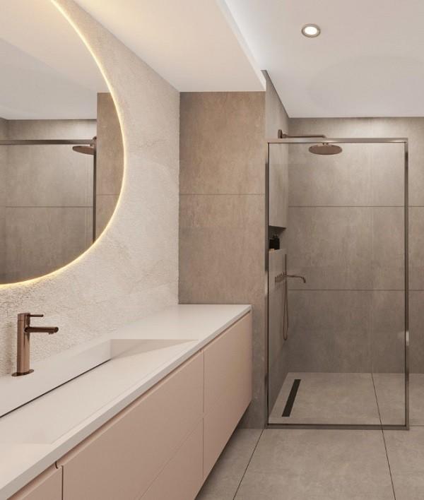 Mersin Corian Banyo Tezgahı