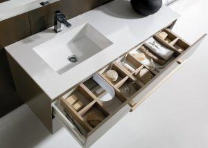 Alaçatı Corian Banyo Tezgahı