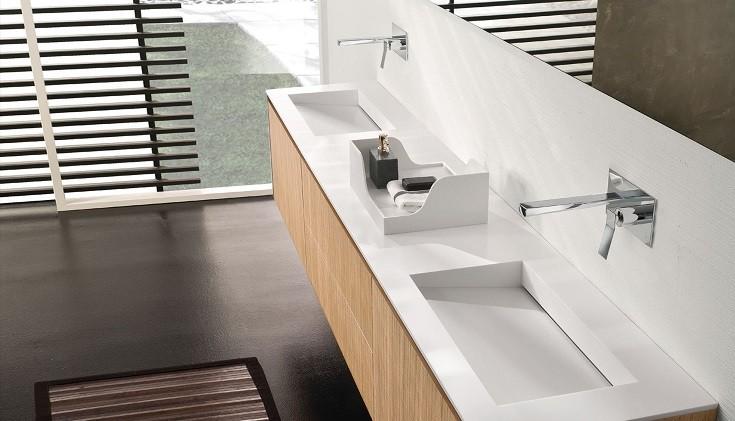 Ertuğrul Corian Banyo Tezgahı