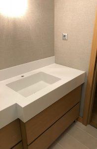 Kiptaş Corian Banyo Tezgahı
