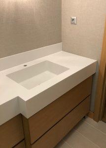 Sinpaş Corian Banyo Tezgahı
